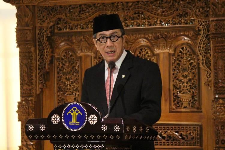 Pelantikan Majelis Pengawas Pusat Notaris (MPPN) dan Majelis Kehormatan Pusat Notaris (MKNP) periode 2019-2022