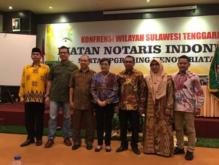Konferensi Wilayah Sulawesi Tenggara Ikatan Notaris Indonesia