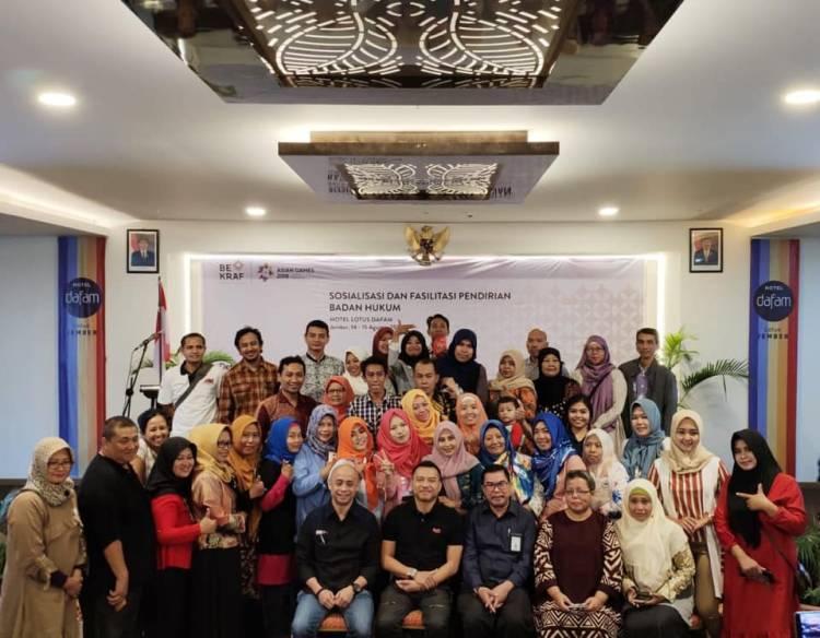 Sosialisasi dan Fasilitasi Pendirian Badan Hukum Pendirian Perseroan Terbatas untuk Usaha Mikro, Kecil, Menengah (UMKM).