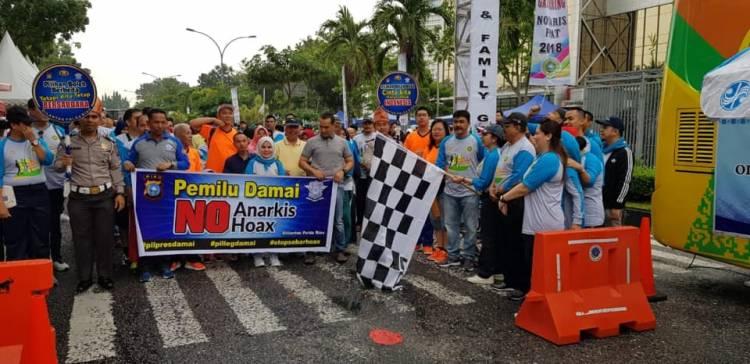 FUN WALK & FAMILY GATHERING Notaris dan PPAT Kota Pekanbaru , Riau