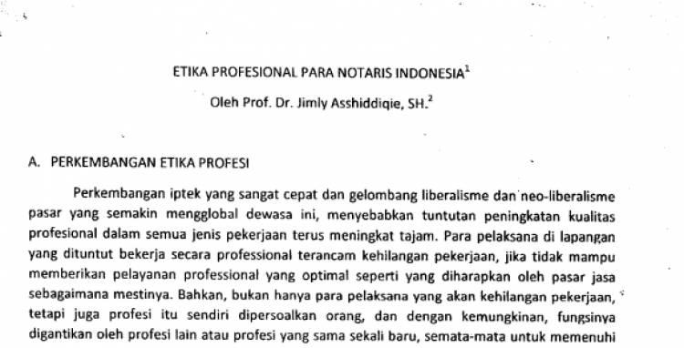 Keynote Speaker PROF. DR. JIMLY ASSHIDDIQIE,SH. pada Pembekalan Ujian Kode Etik Notaris Periode 2017 Gelombang 2, 29 Maret 2017 Econvention Ancol